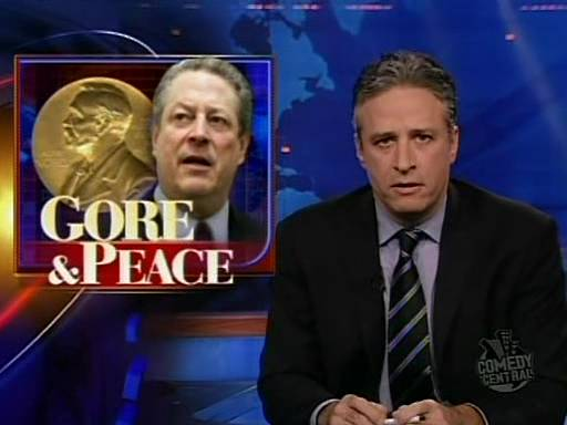 The Daily Show, October 15, 2007